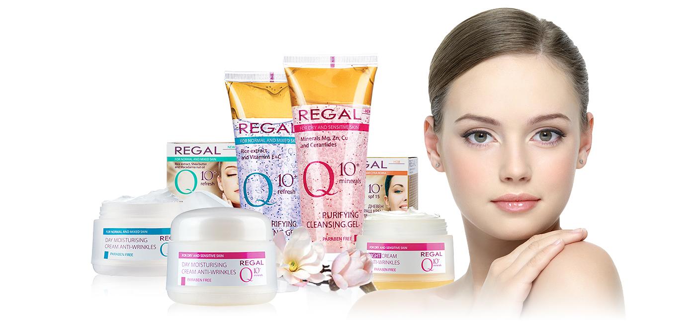 Regal Q10+ - Козметична компания Роза импекс